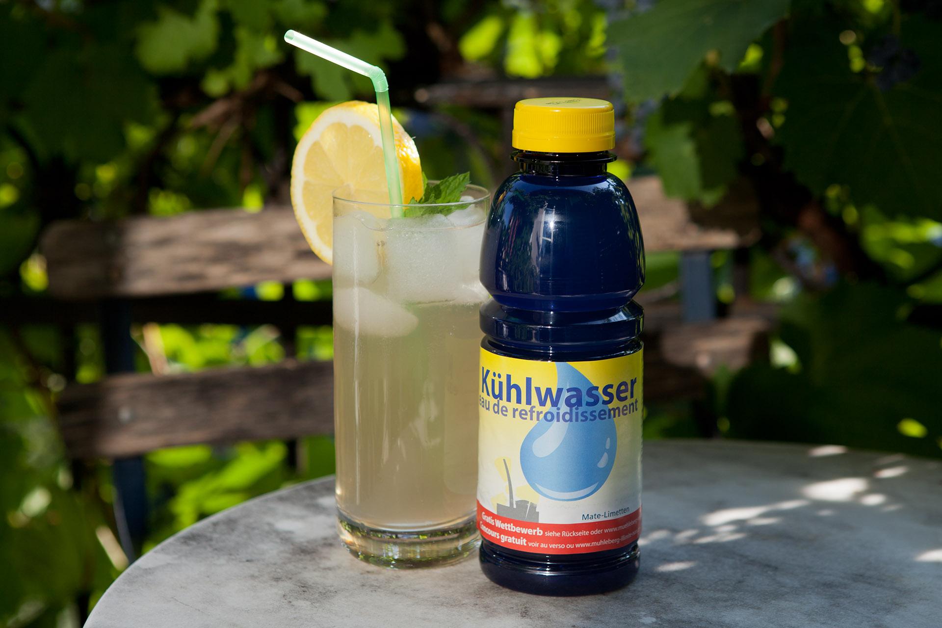 Kühlwasser – Erfrischendes Bio-Getränk für einen guten Zweck