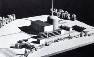 Foto Titelbild: Atomkraftwerk Mühleberg, Arbeitsstand, Heft 3, Brown Boveri GETSCO, 1967