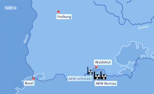 Beznau Hearing: Schweizer AKW an der Grenze zu Deutschland, Standbild SWR