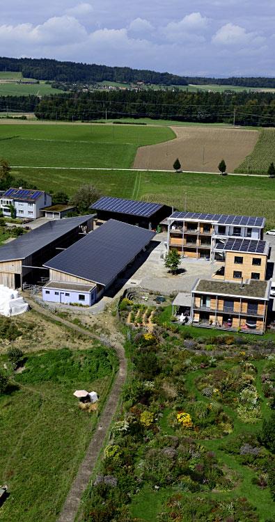 Biohof Schüpfenried - Luftaufnahme