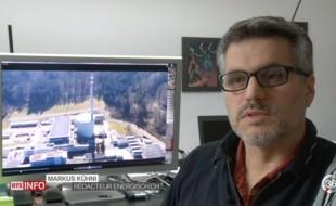 RTS des drones survolent une centrale nucléaire