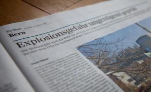 Der Bund - Explosionsgefahr ungenuegend geprueft